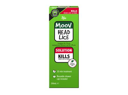 EGO Moov Head Lice Solution 200 Ml