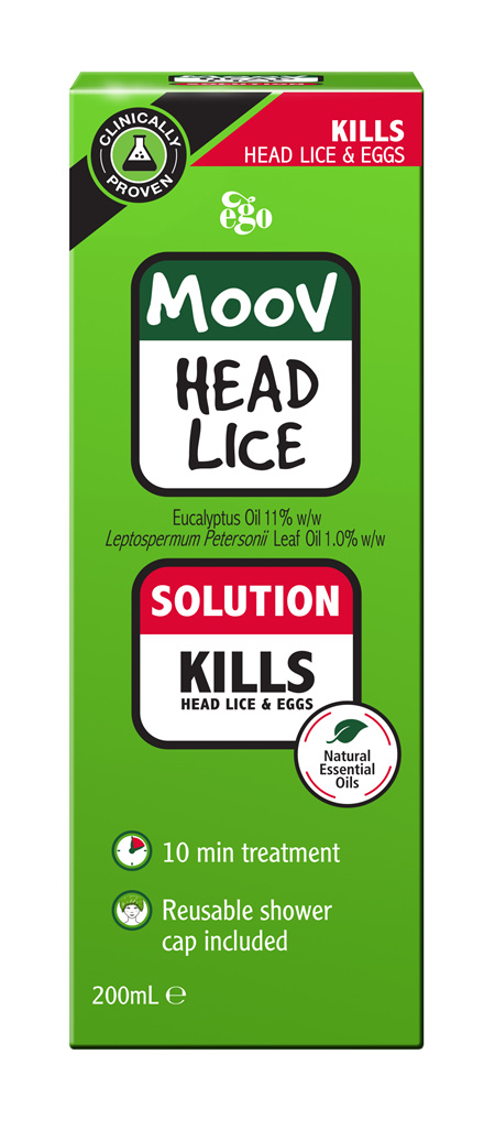 EGO Moov Head Lice Solution 200 Ml