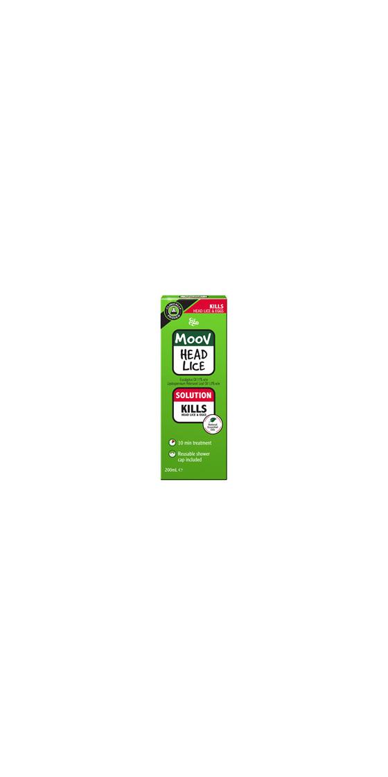 EGO Moov Head Lice Solution 200ml