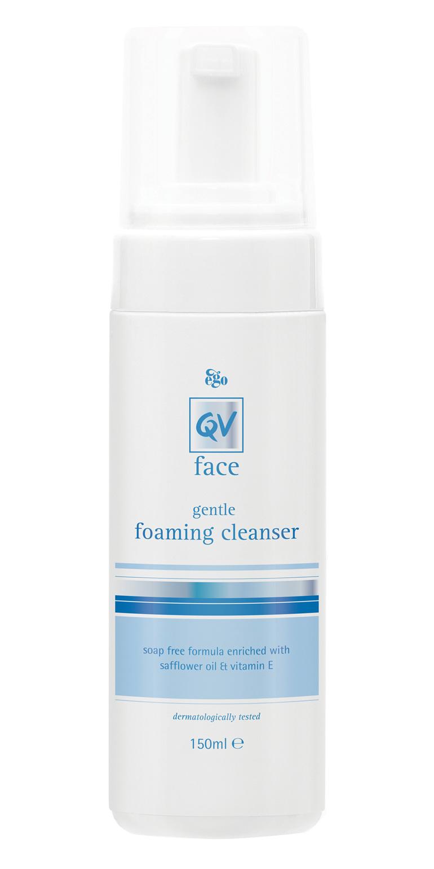EGO Qv Face Gentle Foam Cleanser 150 Ml