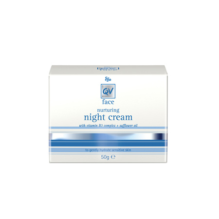 EGO Qv Face Night Cream 50 G