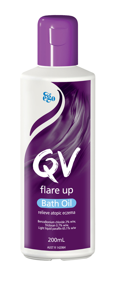 EGO Qv Flare Up Bath Oil 200 Ml