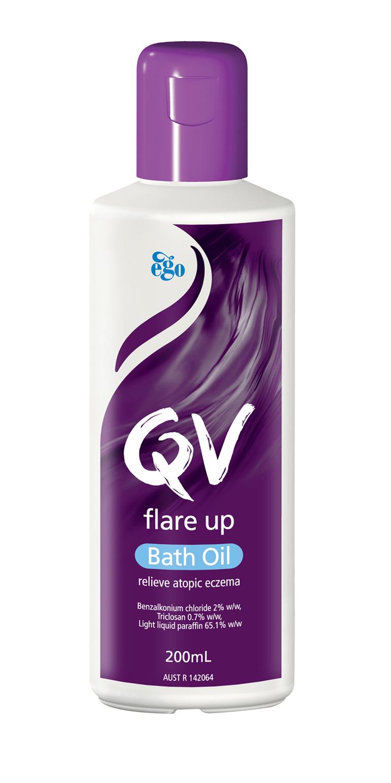 EGO Qv Flare Up Bath Oil 200 Ml