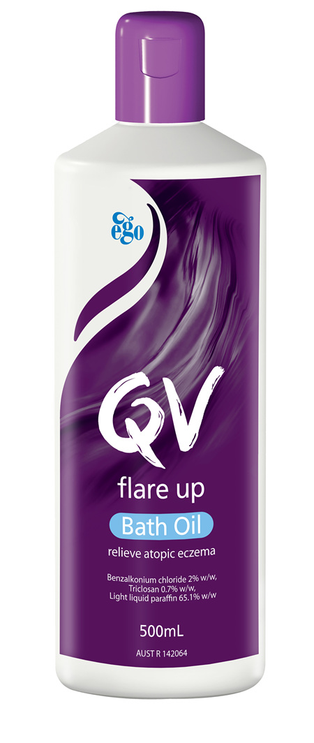 EGO Qv Flare Up Bath Oil 500 Ml