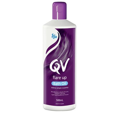 EGO Qv Flare Up Bath Oil 500 Ml