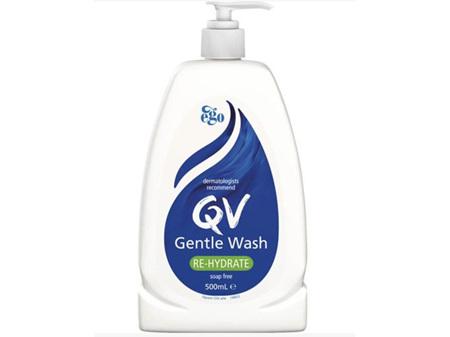 EGO QV Gentle Wash 500ml + Banded Gift