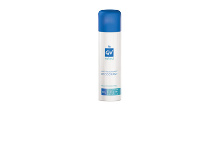 EGO Qv Naked Anti-Perspirant Deodorant Spray 100 G