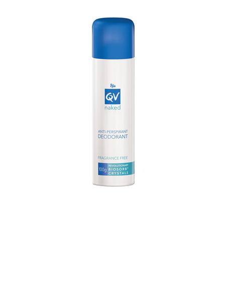 Ego QV Naked Anti-Perspirant Deodorant Spray 100g - ASP