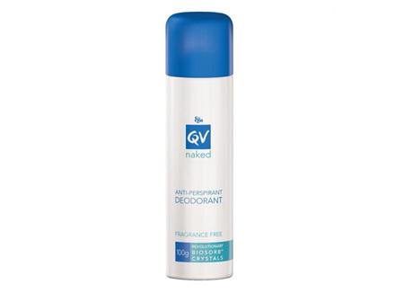 Ego QV Naked Anti-Perspirant Deodorant Spray 100g