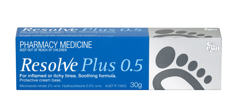 EGO Resolve Plus 0.5 Top Cream 30 G