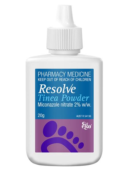 EGO Resolve Tinea Powder 20 G