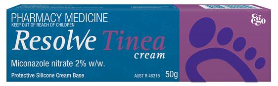 EGO Resolve Tinea Topical Cream 50 G