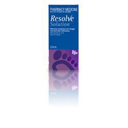 EGO RESOLVE TOPICAL SOLUTION 25ML