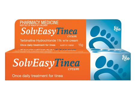 EGO Solv Easy Tinea Cream 1.0 % 15 G