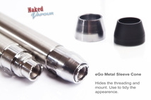 eGo Steel Sleeve Cone