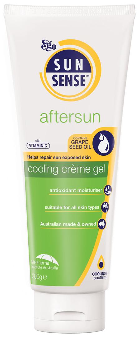 EGO Sunsense Aftersun Cooling Creme Gel 200 G
