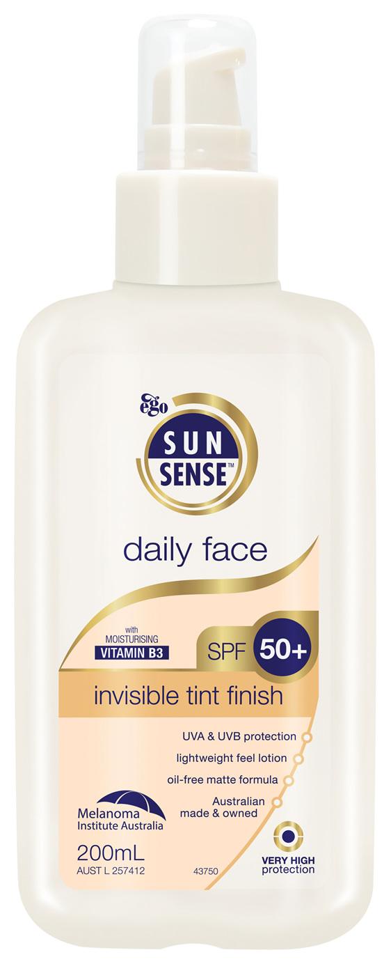 EGO Sunsense Daily Face Spf 50+ 200 Ml