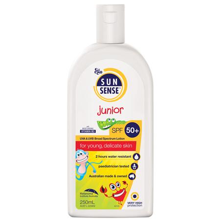 EGO Sunsense Junior Spf 50+ 250 Ml
