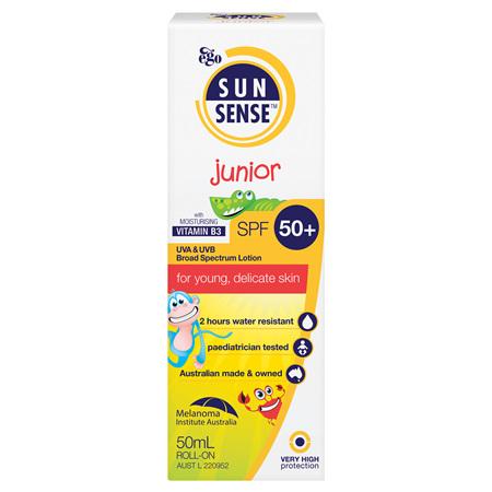 EGO Sunsense Junior Spf 50+ Roll On 50Ml