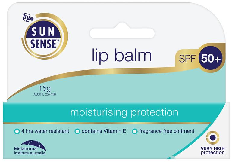 EGO Sunsense Lip Balm Spf 50+ 15 G