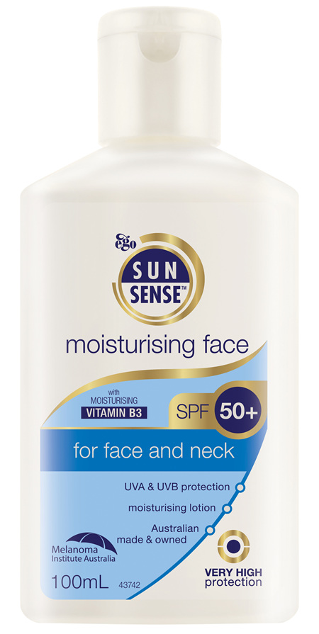 EGO Sunsense Moisturising Face Spf 50+ 100Ml