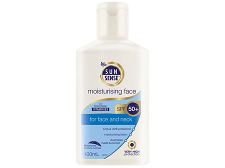 EGO Sunsense Moisturising Face Spf 50+ 100Ml