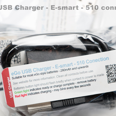 eGo USB Charger - E-smart type - 510 Connection