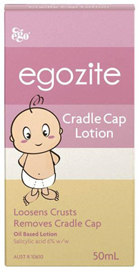 Egozite Cradle Cap Lotion