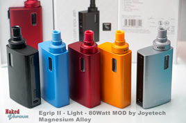 Egrip II - Light - 80Watt MOD by Joyetech - Magnesium Alloy