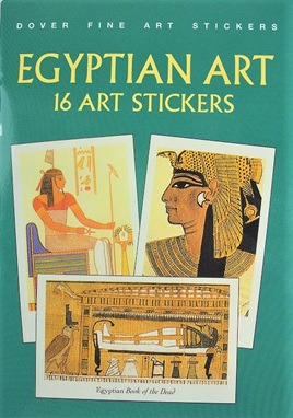 Egyptian Art: 16 Art Stickers