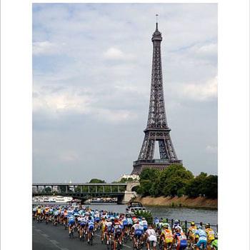 Eiffel Tower - 2006 Tour de France