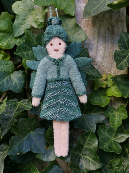 Eklektiko Fern - Winter Felt Fairy
