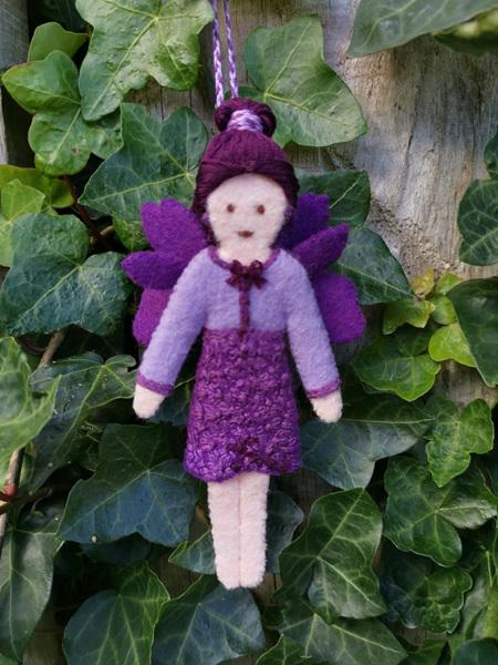 Eklektiko Hebe - Autumn Felt Fairy