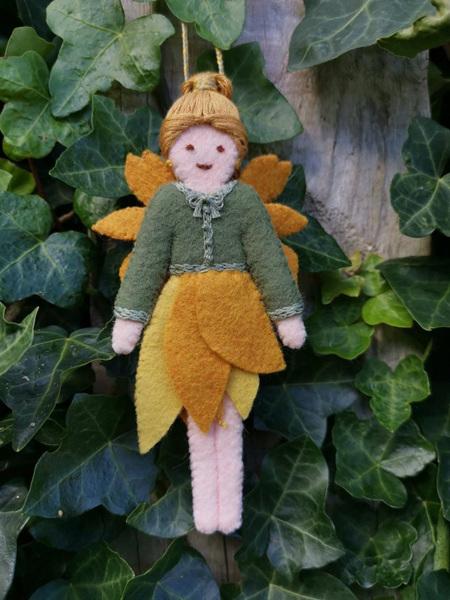 Eklektiko Kowhai - Spring Felt Fairy