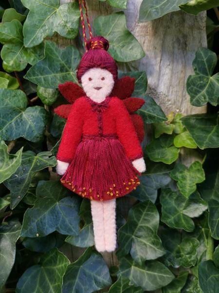 Eklektiko Pohutukawa - Summer Felt Fairy