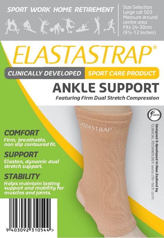 Elastastrap Ankle Supp Lge