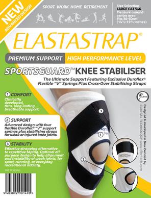 Elastastrap Sportsguard Knee Stab Lge