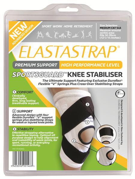 Elastastrap Sportsguard Knee Stab Med
