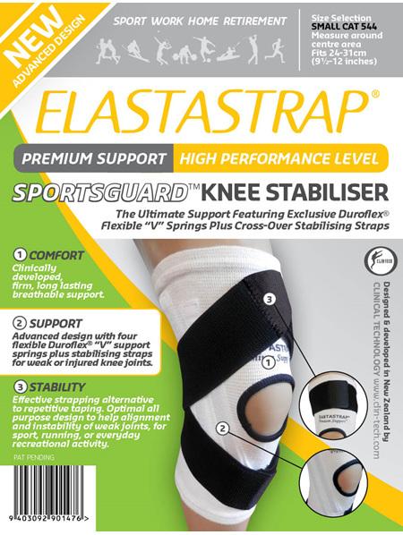 Elastastrap Sportsguard Knee Stab Sml