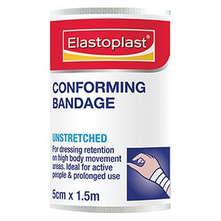 Elastoplast 46011, Conforming Bandage 5cm x 1.5m