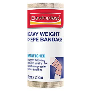 Elastoplast 46019, Heavy Crepe Bandage 10cm x 2.3m