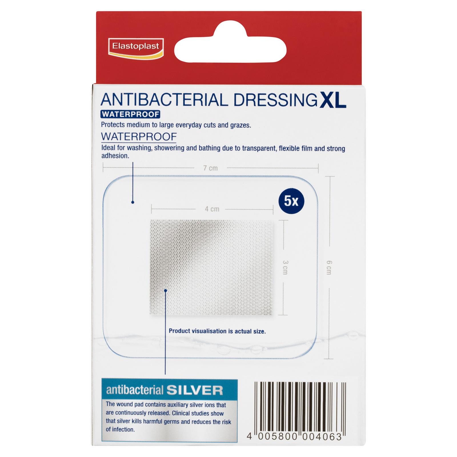 Elastoplast Antibacterial XL Waterproof - Bay Health