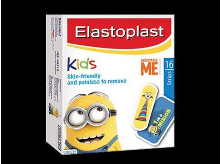 Elastoplast Despicable Me Kids Plasters - 16 strips