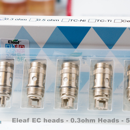 Eleaf EC Heads - 0.3ohm - 5 Pack
