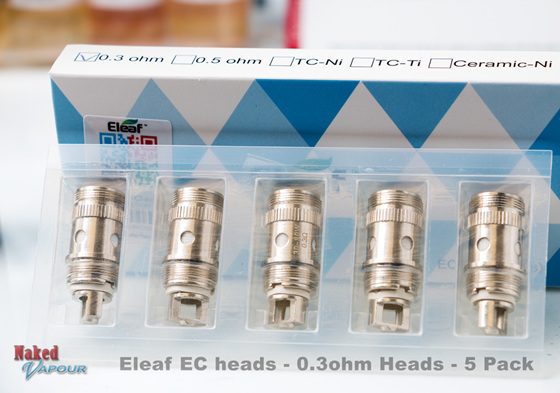 Eleaf EC heads - 0.3ohm Heads - 5 Pack