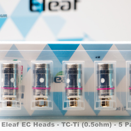Eleaf EC Heads - TC-Ti (0.5ohm) - 5 Pack