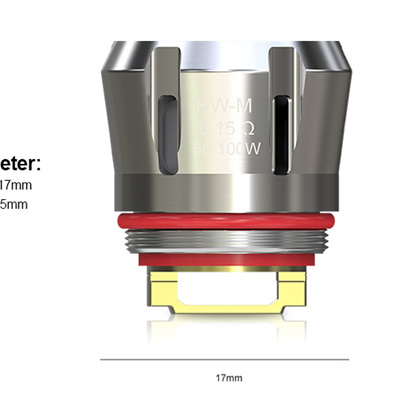 Eleaf HW-M Heads - 0.15ohm - Net Coil