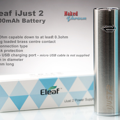 Eleaf iJust 2 - 2600mAh Battery