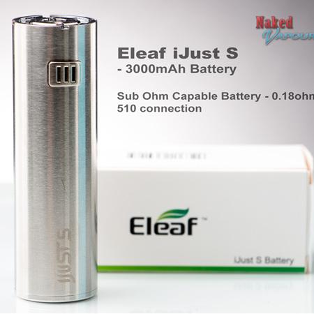 Eleaf iJust S - 3000mAh Battery