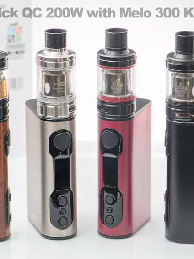 Eleaf iStick QC 200W with Melo 300 Kit - 5000mAh